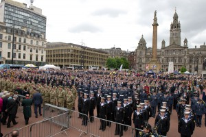 Armed Forces Day Glasgow 2013